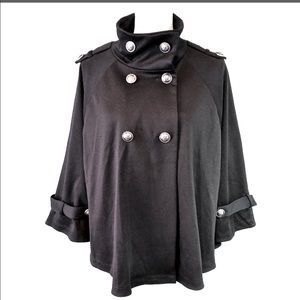 AB Studio Pancho/sweater jacket